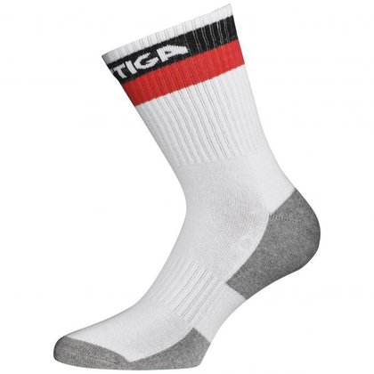 STIGA Prime High Socks White Red