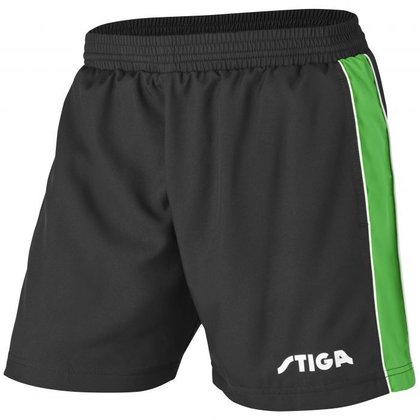 STIGA Shorts Lunar Black Green