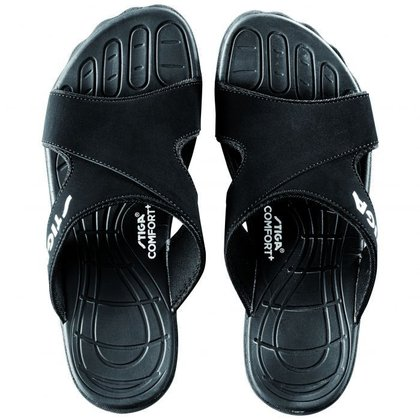 STIGA Slippers Comfort Black
