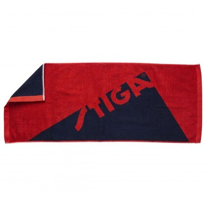 STIGA Towel Edge Red Navy