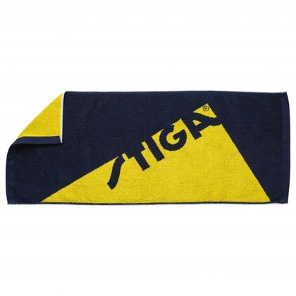 STIGA Towel Edge Navy Yellow