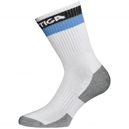 STIGA Prime High Socks White Blue