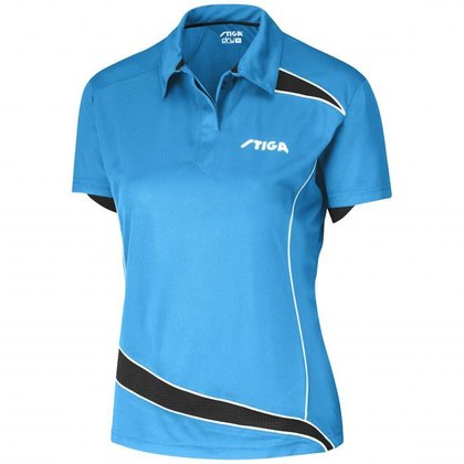 STIGA Shirt Discovery Lady Diva Blue Black