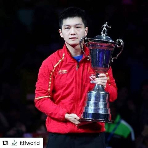Fan Zhendong спечели ITTF Men's World Cup.