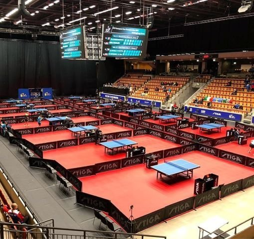 STIGA е спонсор на 2019 ITTF European Para Table Tennis Championships.