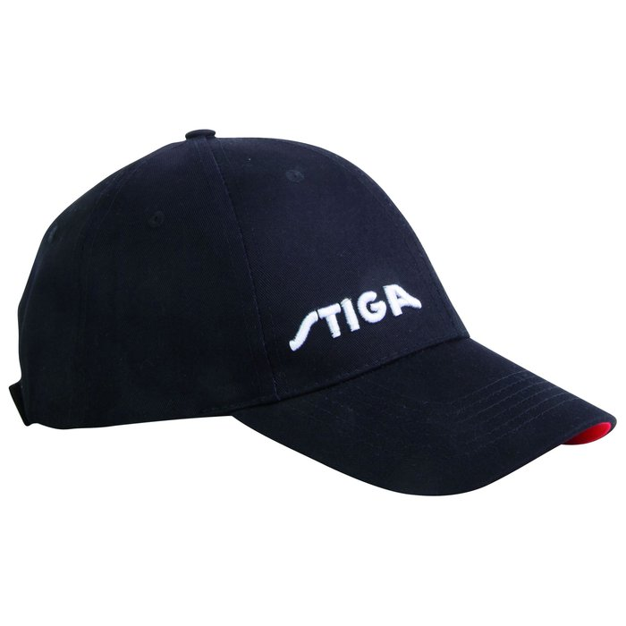 STIGA Cap Black, Red
