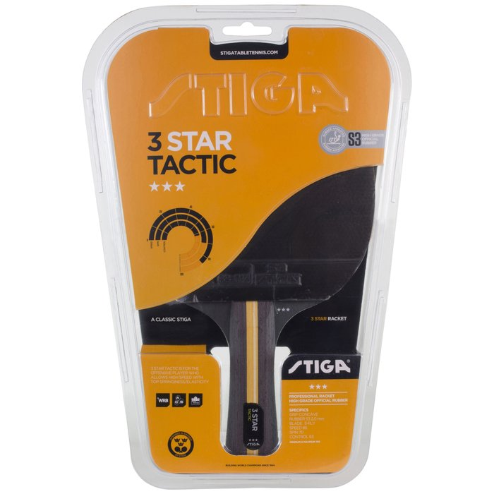 STIGA Tactic 3-star